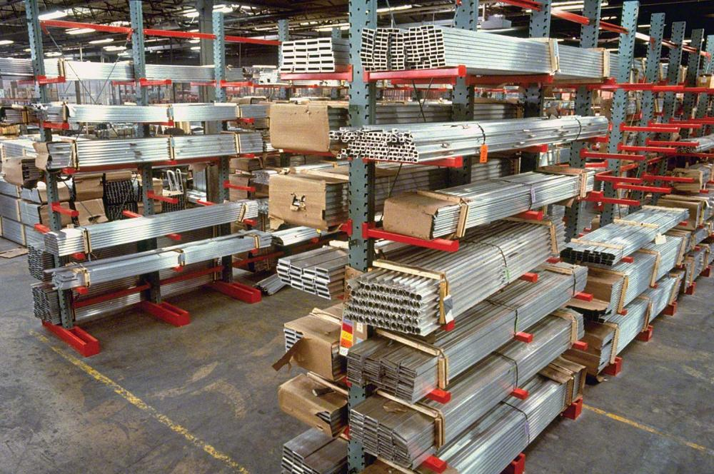 Cantilever Racking System for Pipe and Bar Stock Storage