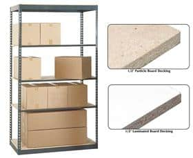Industrial Shelving for Finished Goods Storage