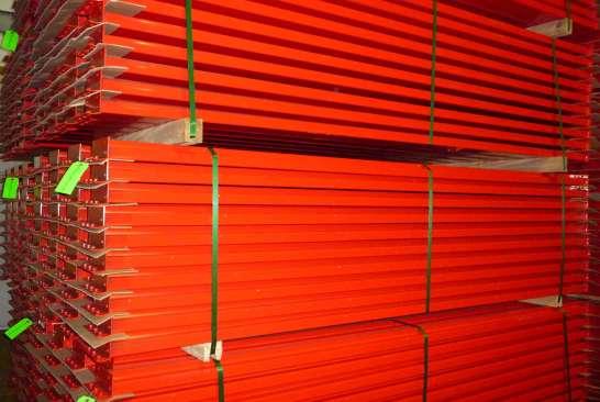 Used Pallet Rack Steel Beams