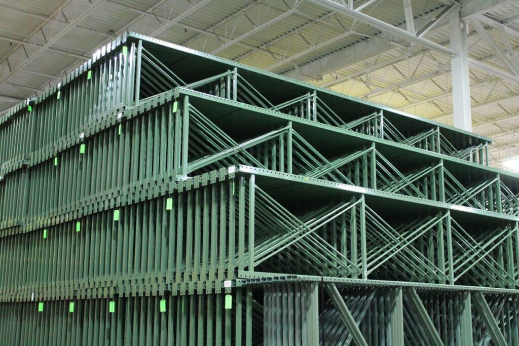 Used Pallet Rack Steel Uprights