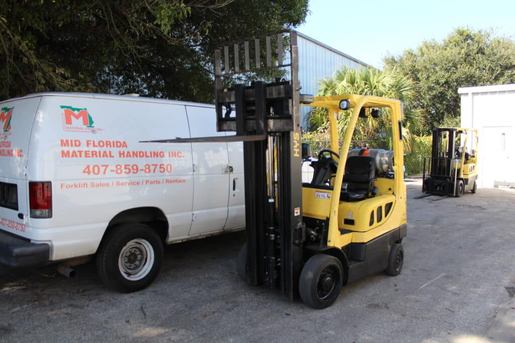 Used Hyster Forklift for Sale Mid Florida Material Handling