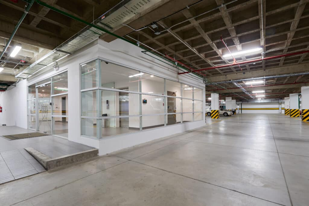 Modular Office in Garage