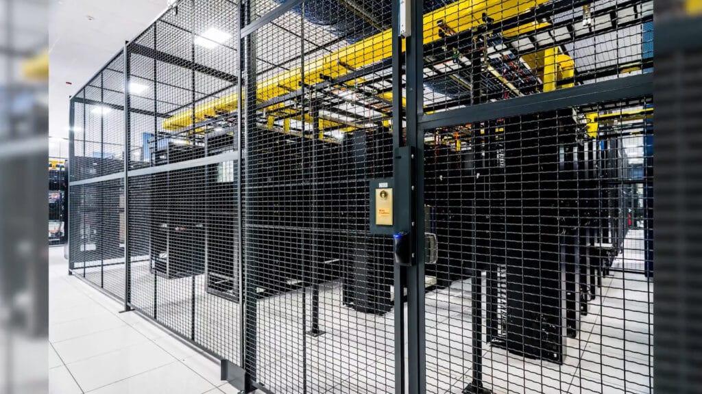 Wire Room around Server Room
