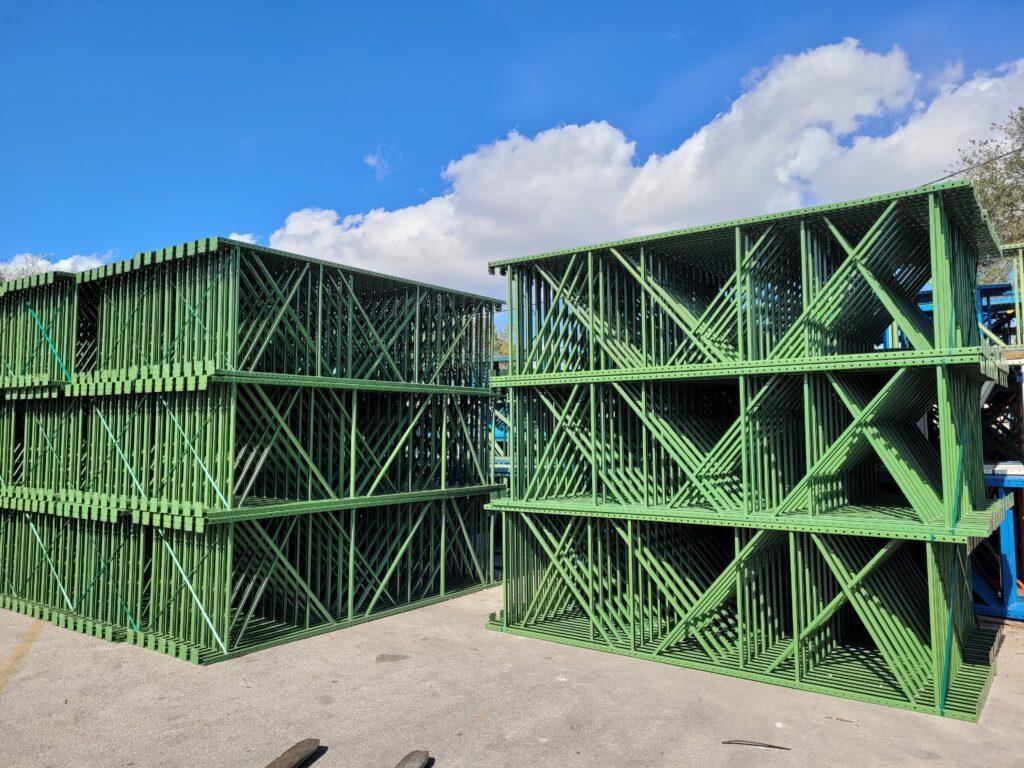 Tampa, Florida Pallet Rack Uprights Inventory