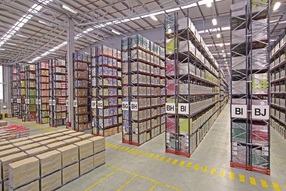 Warehouse Ready For Liquidation