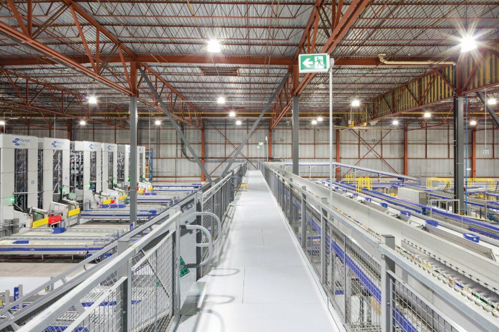 Grey Cogan Industrial Catwalk Mezzanine
