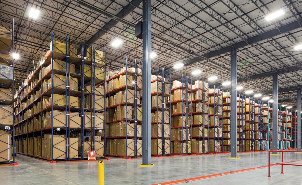 Interlake Pallet Rack in warehouse environment